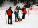 Start of the 15km Classic. Swiss Cup, Campra