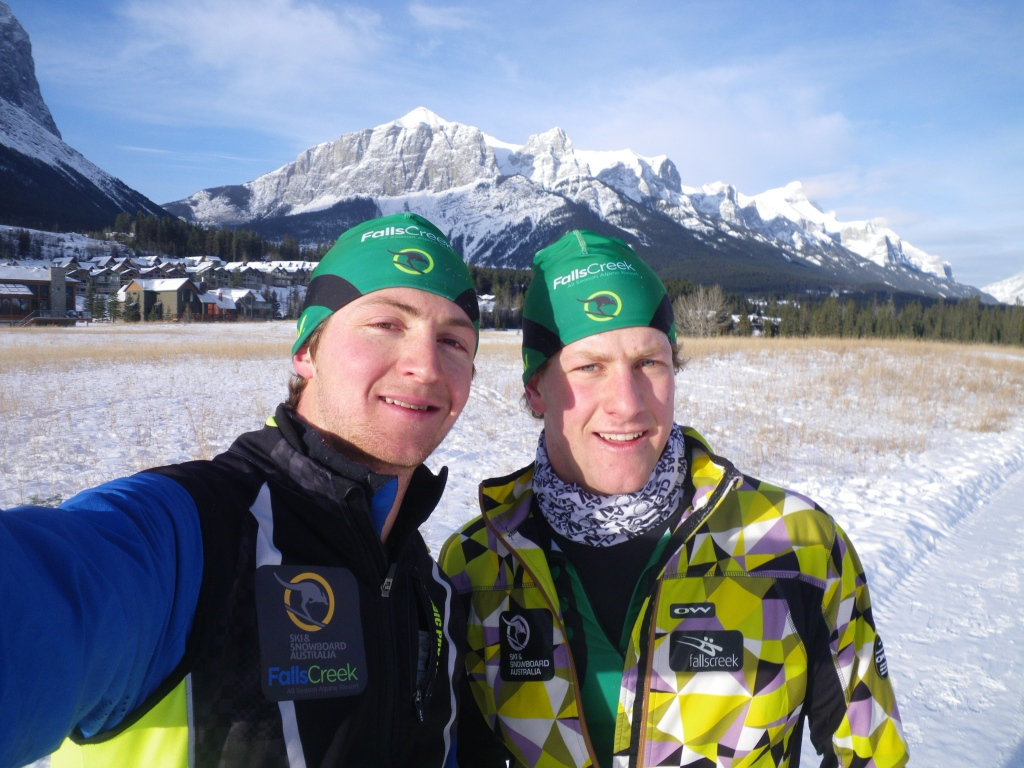 last day in Canmore, went running with Phil.