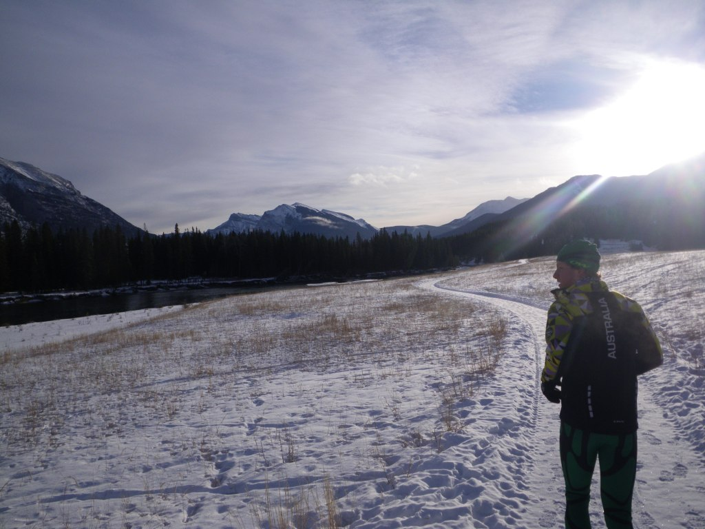 The final run in Canmore
